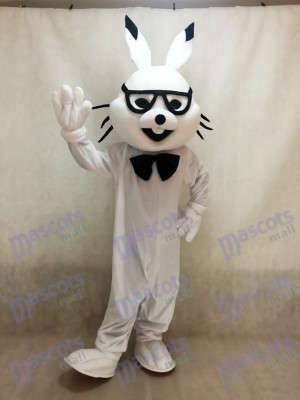 White Easter Bunny Bugs Rabbit Mascot Costumes