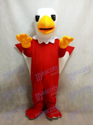Red Griffin Mascot Costume