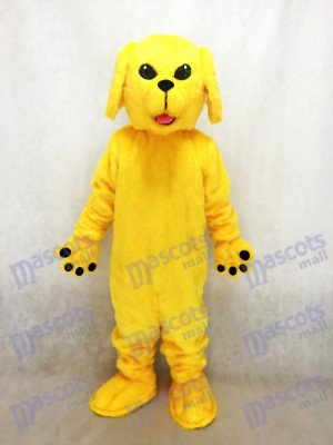 New Cute Golden Lab Dog Mascot Costume Animal