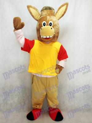 Brown Martin the Donkey Mascot Costume Animal