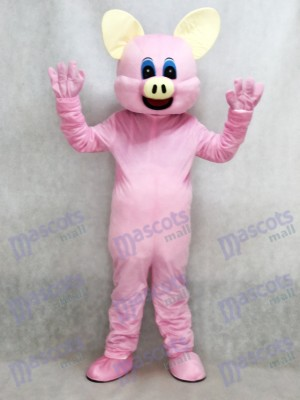 New Pink Pig Mascot Adult Costume Animal