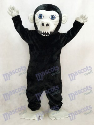 New Black Gorilla Mascot Costume Animal