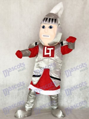Red Cloak Adult Knight College of St Rose Mascot Costume