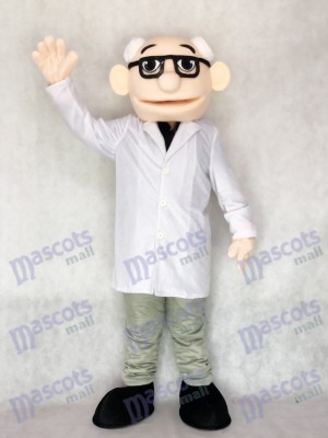 New Professor Doctor Mascot Costume