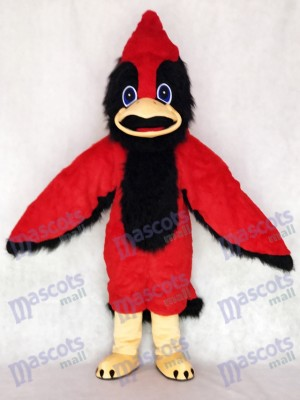 Cute Big Red Bird Mascot Costume Animal
