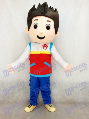 Paw Patrol Ryder Mascot Costume Cosplay Carton TYPE A