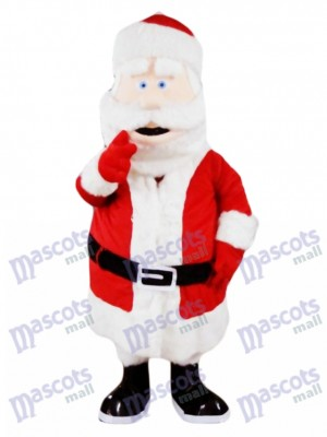 Santa Claus Father Christmas Xmas Mascot Costume Party