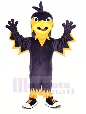 Purple Phoenix Mascot Costume Animal