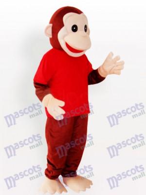 Happy Monkey Animal Funny Mascot Costume