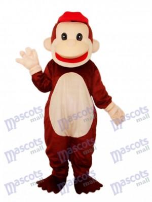 Happy Monkey Mascot Adult Costume Animal