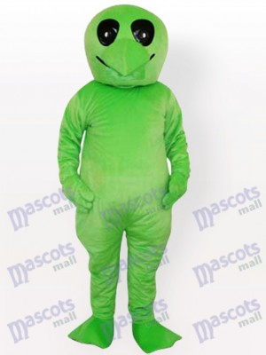Green Alien Adult Party Mascot Costume