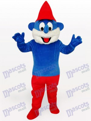 Blue Spirit Anime Adult Mascot Costume