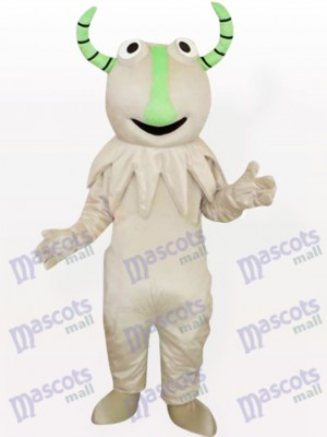 Grey Monster Party Adult Mascot Costume