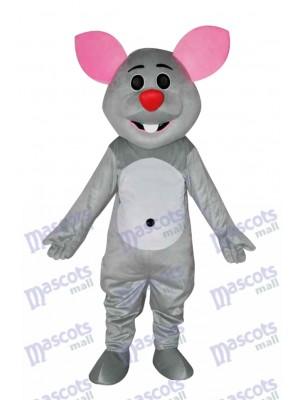 Grey Mouse Mascot Costume Animal