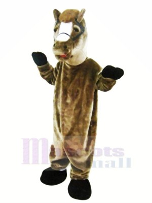 Brown Horse Mascot Costumes Adult