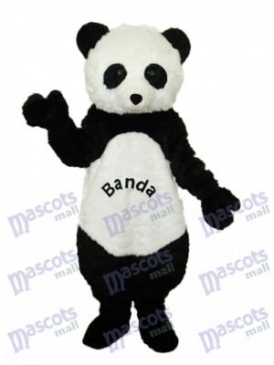 Giant Panda with letters Mascot Adult Costume Animal
