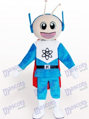 Super Man Cartoon Adult Mascot Costume