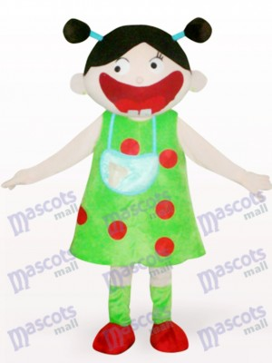 Arab Girl Cartoon Adult Mascot Costume