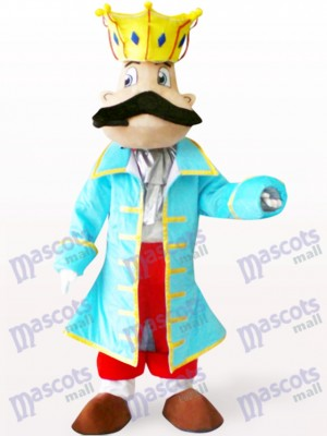 King Cartoon Adult Mascot Costume