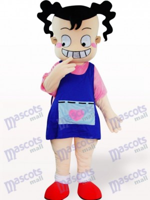 Ugly Girl Cartoon Adult Mascot Costume