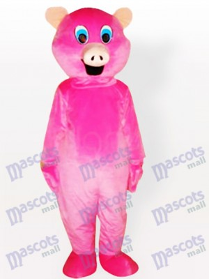 Pink Pig Adult Animal Mascot Costume