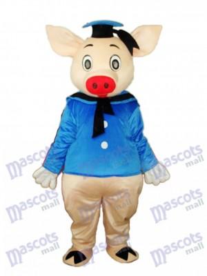 Dr.Pig Mascot Adult Costume Animal