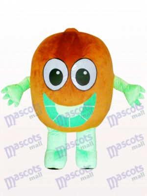 Chinese Gooseberry Kiwi Fruit Adult Mascot Costume