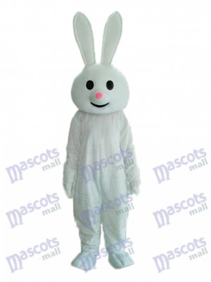 Easter Pink Nose Rabbit Mascot Adult Costume Animal