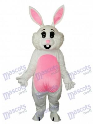 Easter Pink Ears Rabbit Mascot Adult Costume Animal