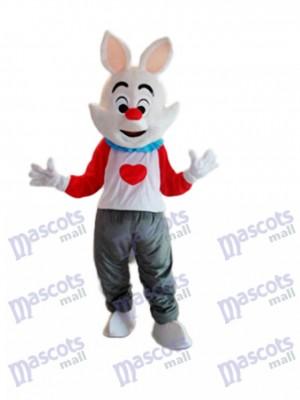 Easter Dada Rabbit Mascot Adult Costume Animal