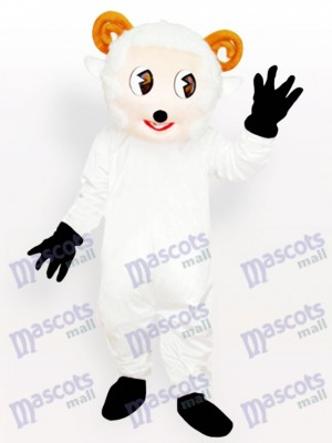 Little Sheep White Animal Adult Mascot Costume