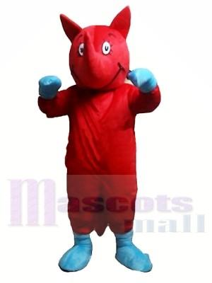 Red Rhino Mascot Costumes