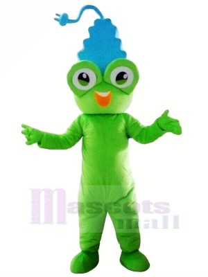 Cute Frog Plug Mascot Costumes Cartoon
