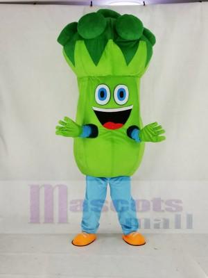Bruce Broccoli Mascot Costume Cartoon