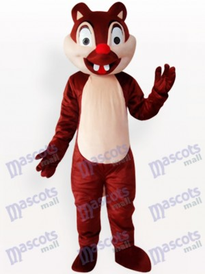 Two Tooth Squirrel Animal Adult Mascot Costume