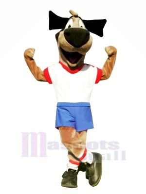 Soccer Dog Mascot Costumes Cartoon