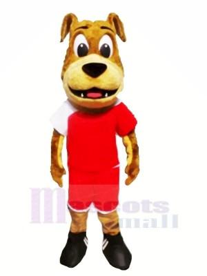 Lovely Bulldog Mascot Costumes Cartoon