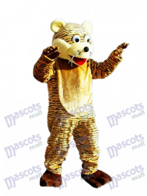 Lucky Tiger Mascot Adult Costume Animal