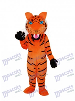Red Brown Tiger Mascot Adult Costume Animal