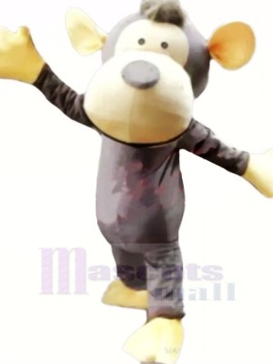 Lovely Gray Monkey Mascot Costumes Cheap