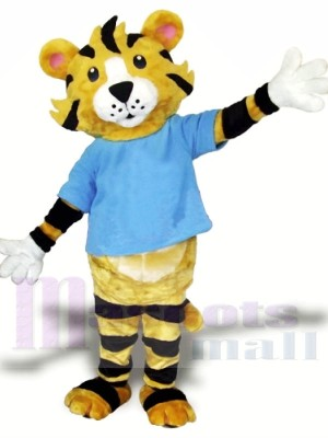 High School Tiger Mascot Costume Free Shipping