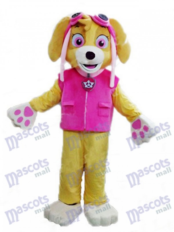 Paw Patrol Skye Adult Mascot Costume Dog Fancy Suit Cartoon Character