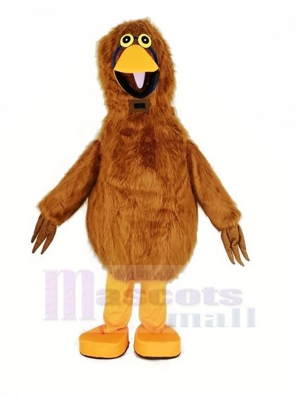 Light Brown Bird Mascot Costume Animal
