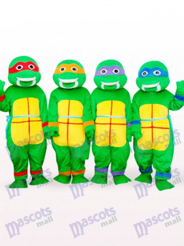 Green Teenage Mutant Ninja Turtles Anime Adult Mascot Costume
