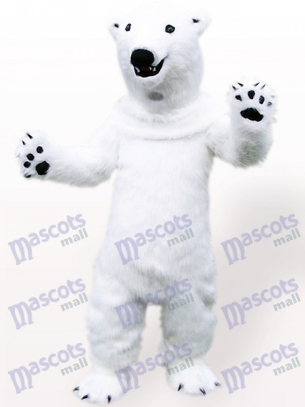 Polar Bear Animal Adult Mascot Costume