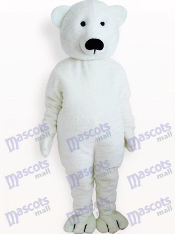 White Bear Animal Adult Mascot Costume