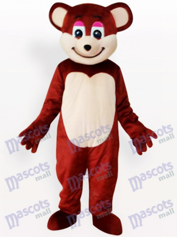 Brown Bear Animal Mascot Funny Costume
