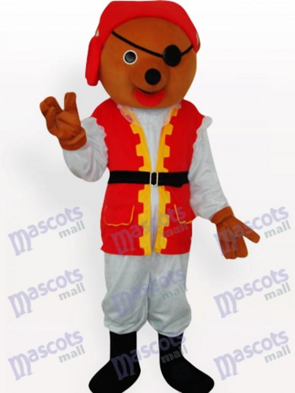 Private Bear Animal Mascot Costume