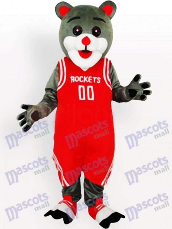 Houston Rockets Bear Funny Mascot Costume