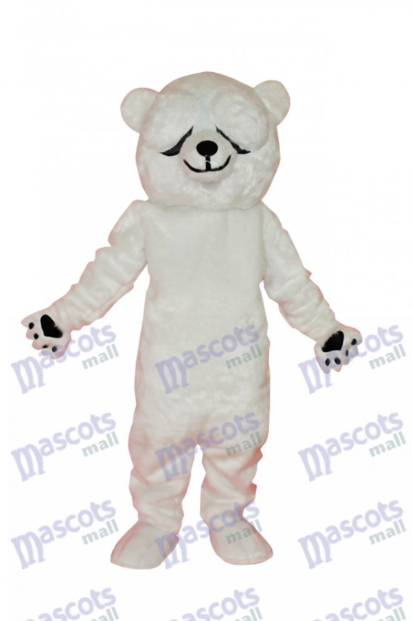 Simple and Honest Polar Bears Mascot Costume